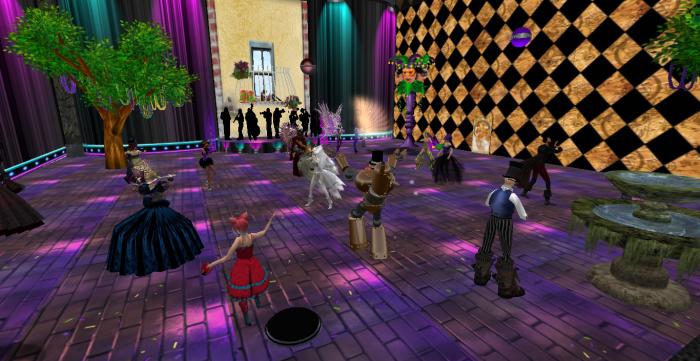 Mardi Gras Ball, 2014. Hosted by Patty Poppy. ~Aevalle Galicia