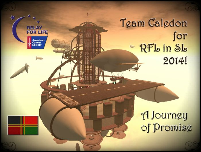 Team Caledon 2014 poster featuring the Lionsgate Air Complex ~Aevalle Galicia