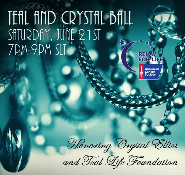 Teal and Crystal Ball Poster, 2014. ~Aevalle Galicia