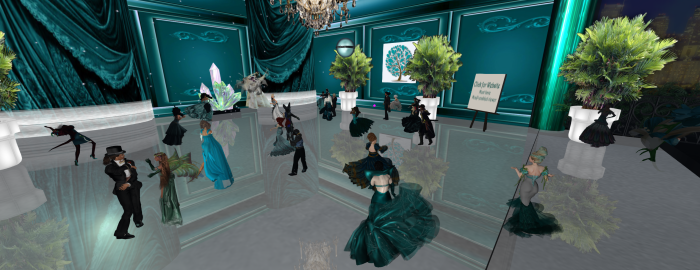 Teal and Crystal Ball, 2014--in honor of Crystal Elliot for RFL. Hosted by Patty Poppy and the Teal Life Foundation. Photos by Wrath Constantine. Submitted by Aevalle Galicia