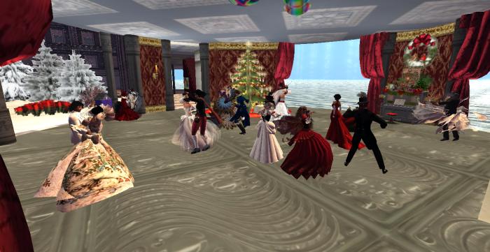 Caledon Christmas Masquerade Ball 2015 at the Guv'nah's Mansion.