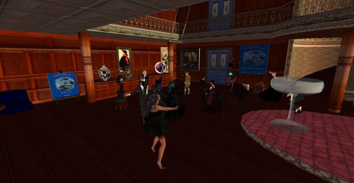 Fogwoman Gray's 50th b-day celebration at the Blue Mermaid, 2013. ~Aevalle Galicia