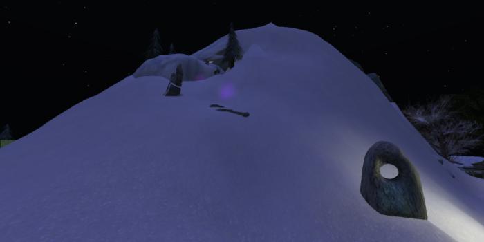 Mount Caledon in Snow, 2015.