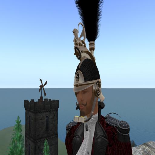 Nix Sands with helmet atop Mt. Caledon, 2009. ~Tehanu Marenwolf