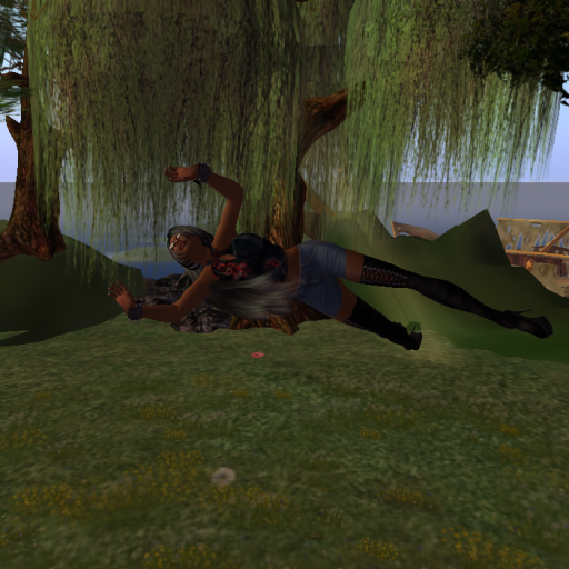 """Magz """"shroomin' it up"""" at Lady Kira's Ilyria in Speirling, 2009."""