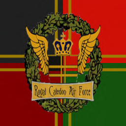 RCAF Insignia - Caledon Tartan