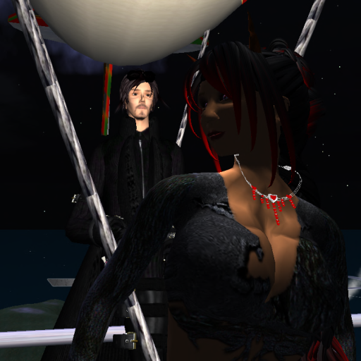 Gerr Udimo and Rachire Wulluf at Lady Amber's Ballroom Pavilion, 2009. ~Wrath Constantine