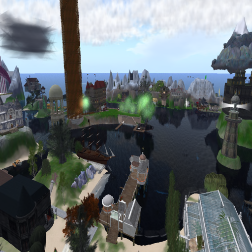 Citadel Tower from a Distance, Caledon Middlesea 2009 ~Wrath Constantine